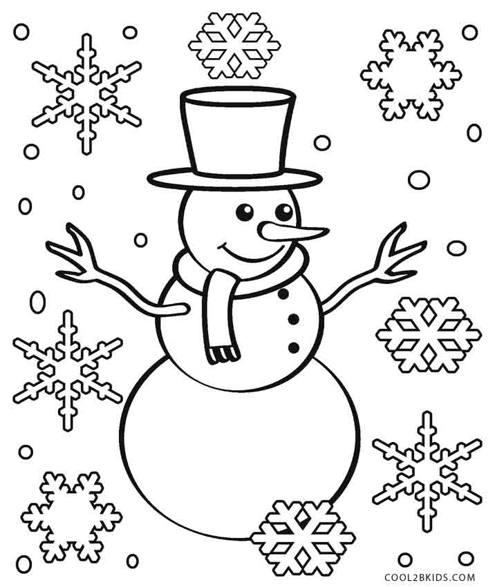 716x850 Printable Snowflake Coloring Pages For Kids Cool2bKids
