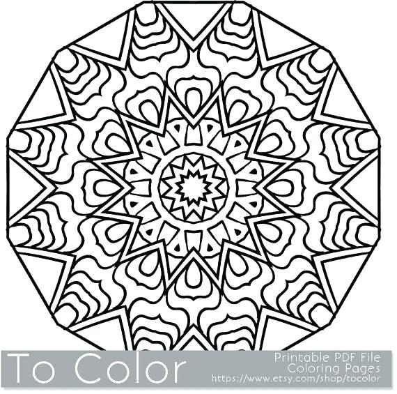 570x565 Coloring Book Snowflake As Well As Printable Snowflake Coloring