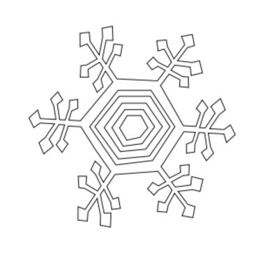 400x376 Kinetic Snowflakes 4 Steps (With Pictures)