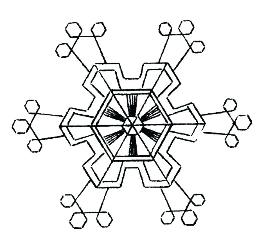 878x821 Printable Snowflake Coloring Pages Snowflake Coloring Pages