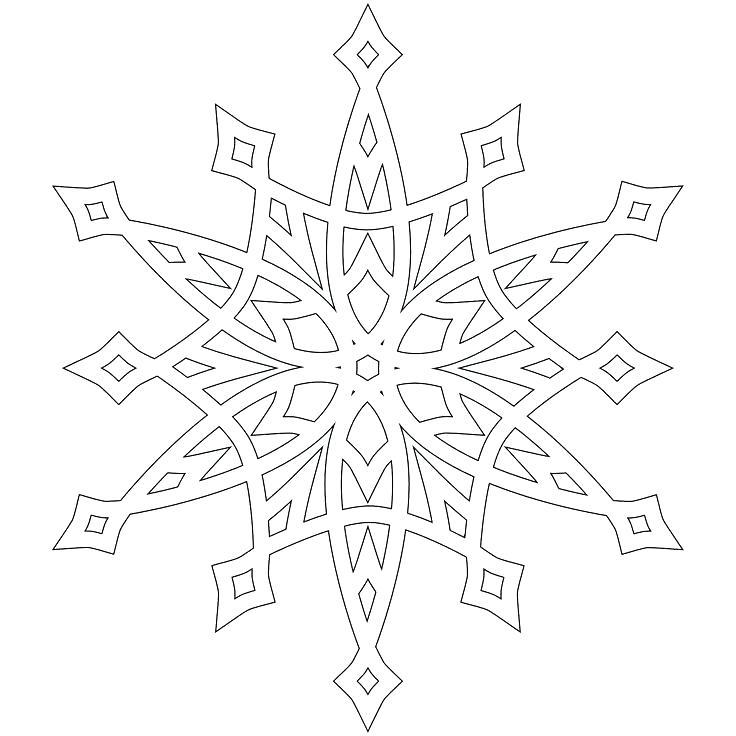 736x736 Snowflakes Coloring Page Free Coloring Page Snowflake Mandala