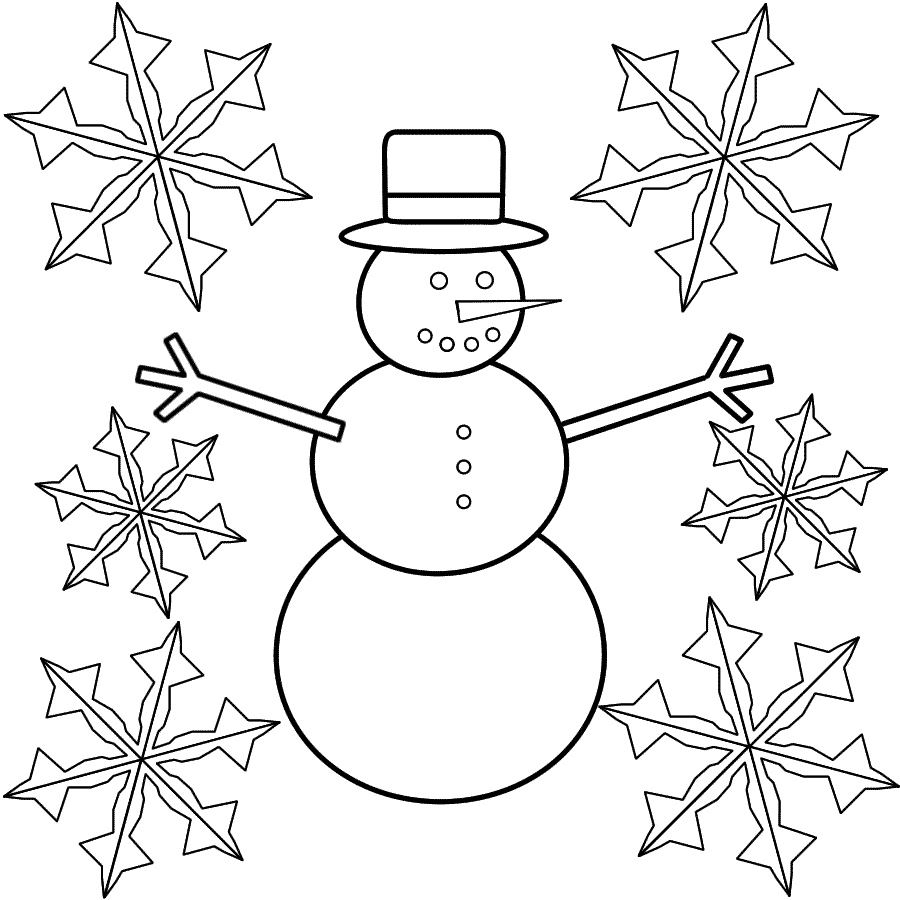 900x900 Coloring Pages Delightful Coloring Pages Draw A Snowflake