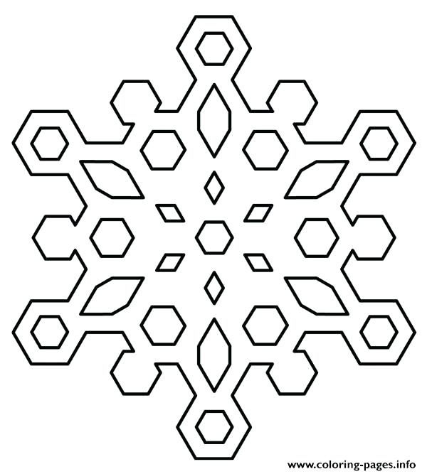 600x667 Coloring Pages Snowflakes Snowflakes Coloring Pages Coloring Page