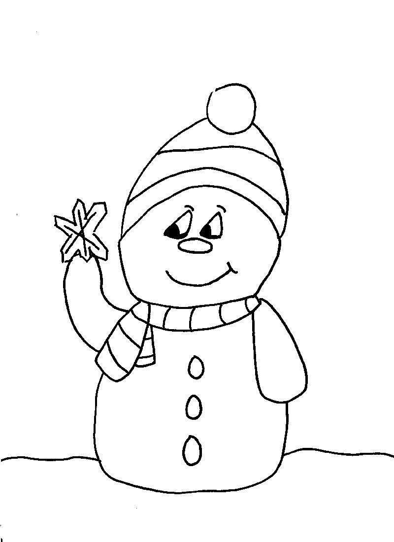 Snowman Drawing For Kids at GetDrawings.com | Free for personal use ...