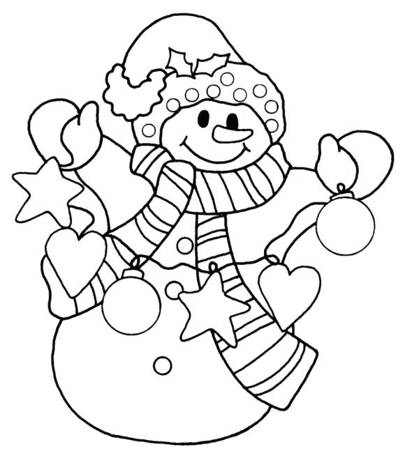 580x654 Free Printable Snowman Coloring Pages Snowman Coloring Snowman