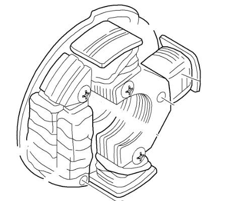 480x399 Arctic Cat Oem Snowmobile Stator Generator Magneto 99 08 Panther Z
