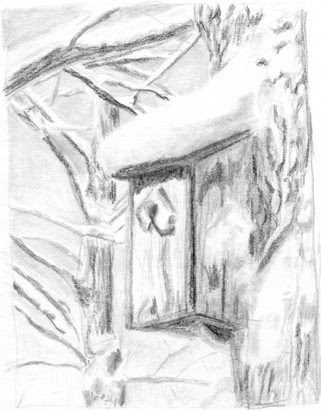 321x410 Starrpoint Drawing Snow In The Winter Landscape, Part 1