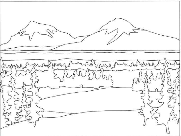 Snowy Mountain Drawing at GetDrawings.com | Free for personal use ...