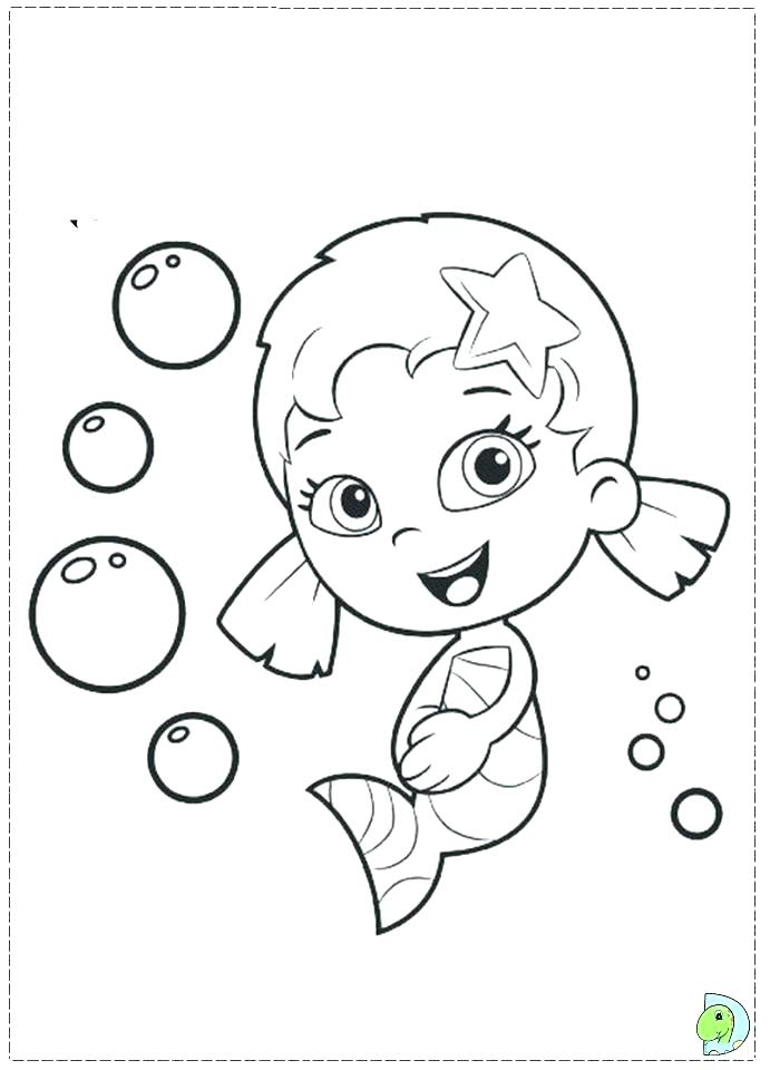 691x960 bubbles coloring pages coloring page outline of cartoon girl