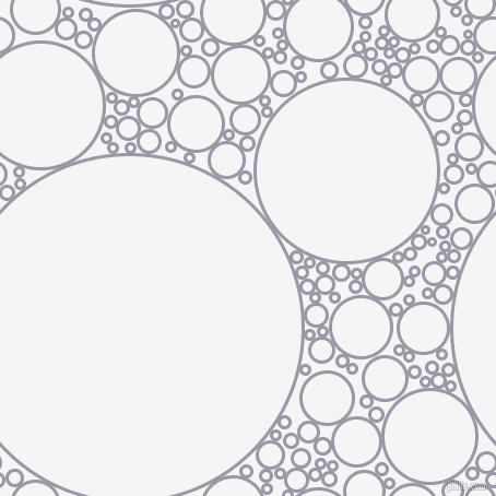 454x454 Santas Grey And White Smoke Circles Bubbles Sponge Soap Seamless