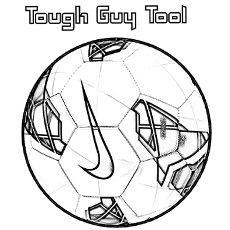 Soccer Ball Cartoon Drawing