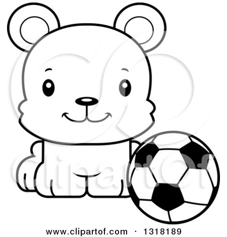 450x470 Animal Lineart Clipart Of A Cartoon Black And White Cute Happy