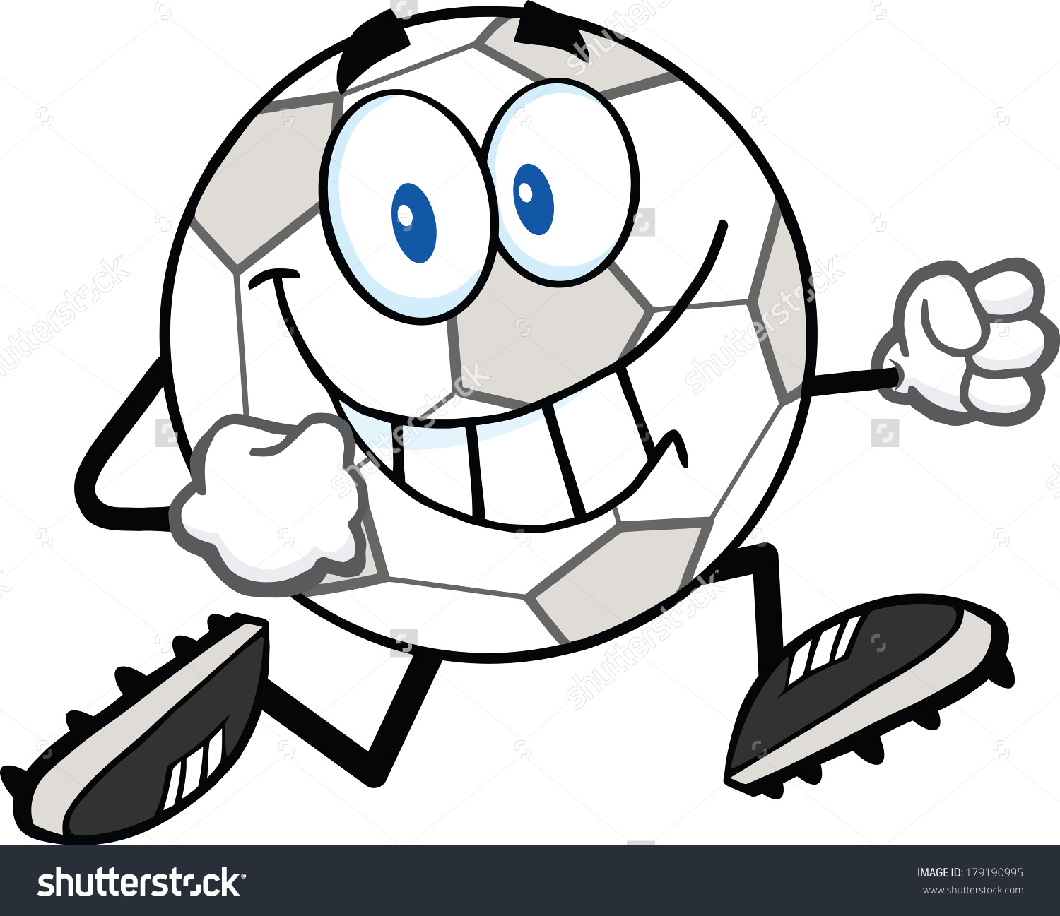 1500x1297 Soccer Ball Cartoon