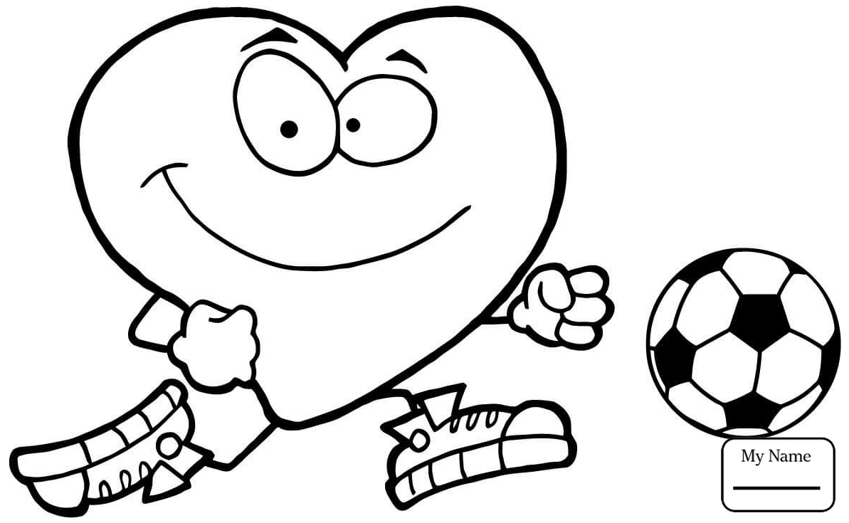1193x735 Coloring Pages Soccer Sports Cartoon Football Player