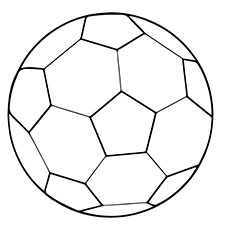 230x230 Soccer Ball Coloring Page Kids Coloring Pages Tunisientunisie