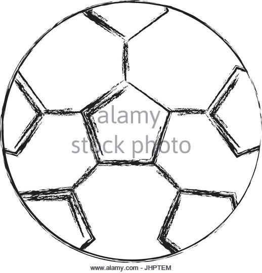 518x540 Soccer Sketch Black And White Stock Photos Amp Images