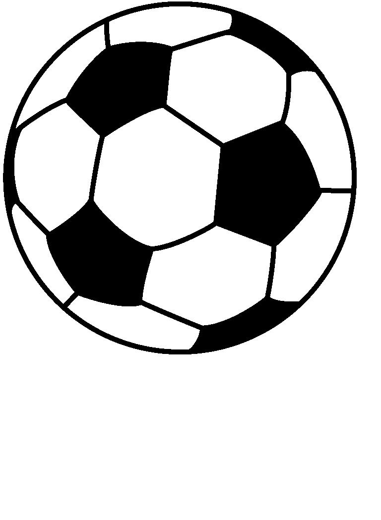 768x1049 Soccer Ball Line Drawing Clipart Panda