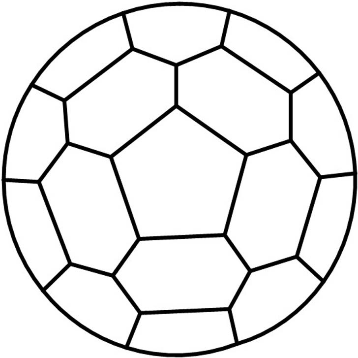 728x727 Darryl's Pattern For A Stained Glass Soccer Ball Soccer Crafts