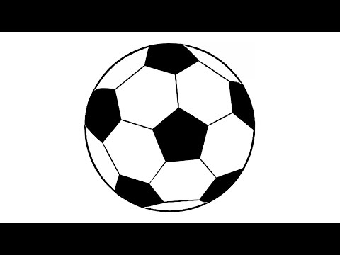 480x360 How To Draw A Soccer Ball Step By Step Loopit