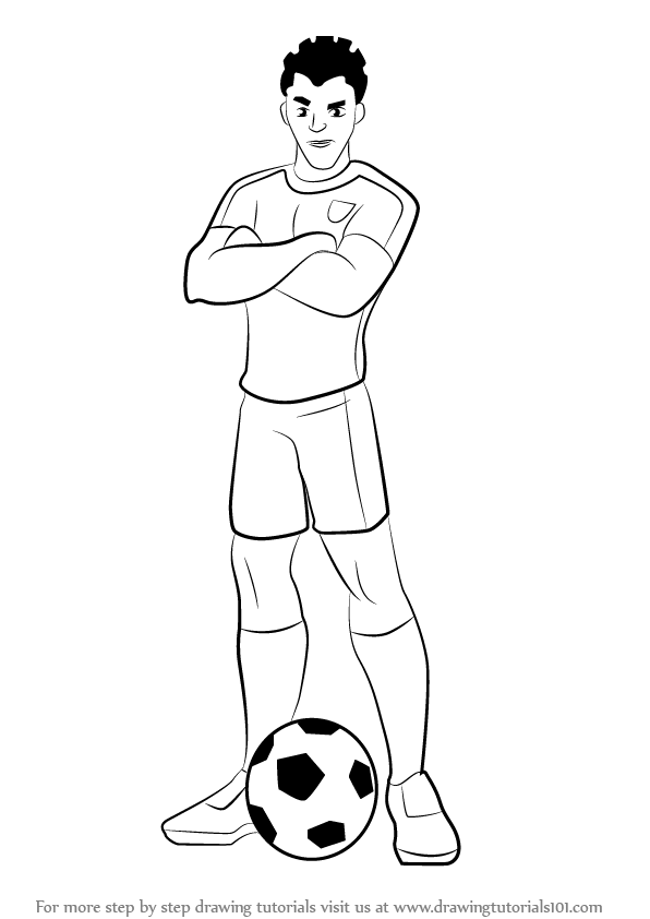 596x842 Learn How To Draw Shakes From Supa Strikas (Supa Strikas) Step By