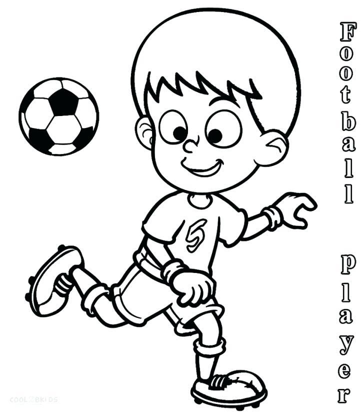 728x826 Football Player Coloring Page Printable Football Player Coloring