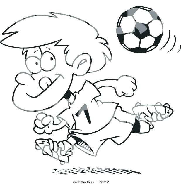 618x630 Good Soccer Ball Coloring Page Image Free Printable Pages Woo Kids