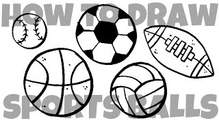 320x180 How To Draw Sport Balls