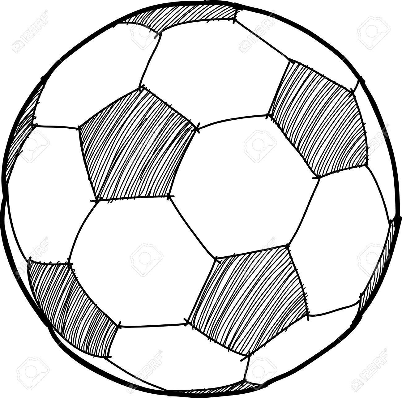 1300x1287 Soccerball Cartoon Royalty Free Cliparts, Vectors, And Stock