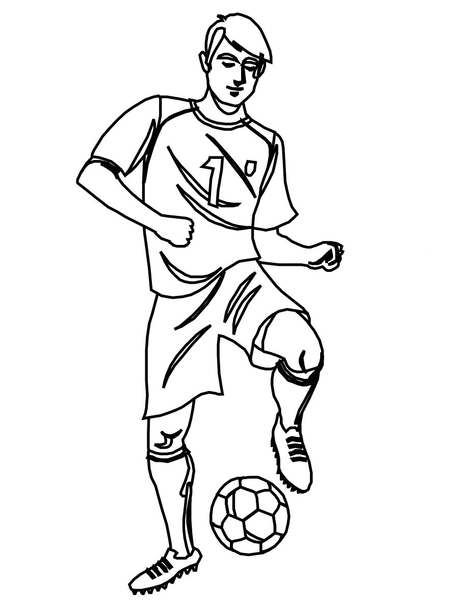 Soccer Ball Drawing Step By Step at GetDrawings.com | Free for ...