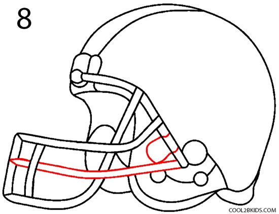 550x422 How To Draw A Football Group