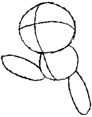 300x382 How To Draw Butterfree From Pokemon With Step By Step Lesson How