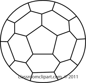 350x338 Soccer Ball Clipart Black And White