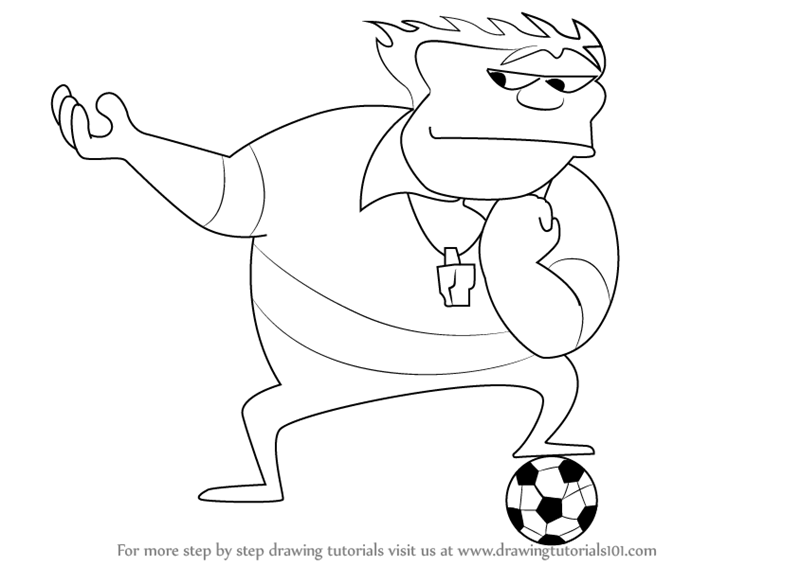800x566 Step By Step How To Draw Coach John Mcguirk From Home Movies