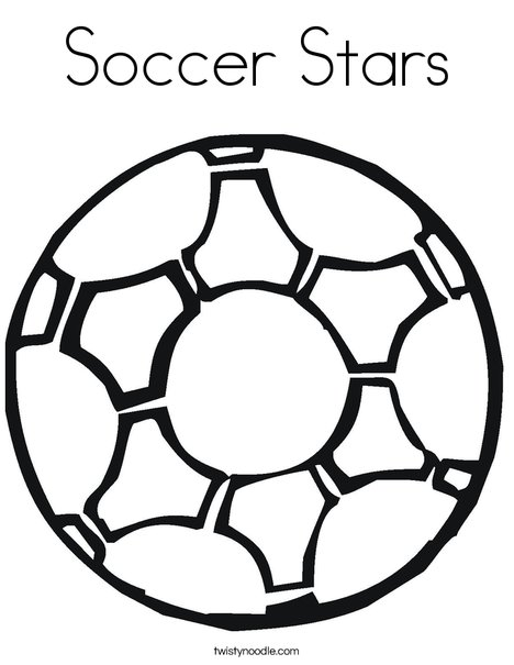 468x605 Soccer Stars Coloring Page