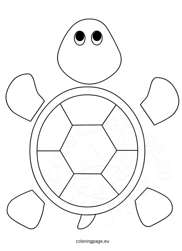 Tactueux image within turtle template printable