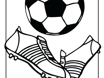 440x330 Coloring Pages Of Soccer Cleats 1 Kids Best Collection Coloring