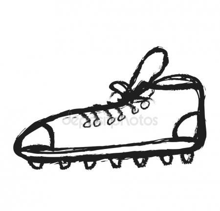 450x432 Soccer Doodle Illustration Illustration Stock Photo Efks