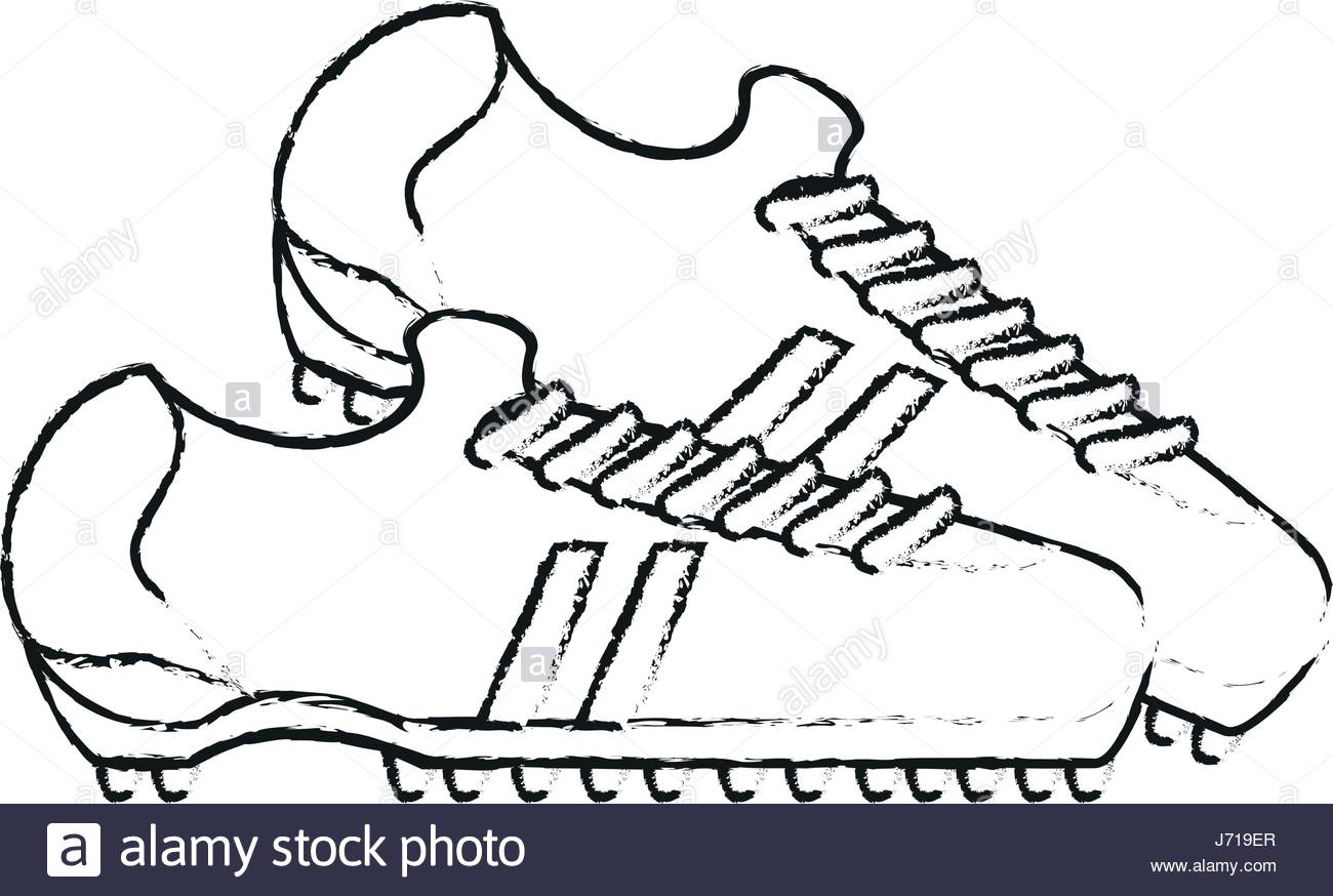 1300x874 Athletic Shoes Football Isolated Stock Photos Amp Athletic Shoes