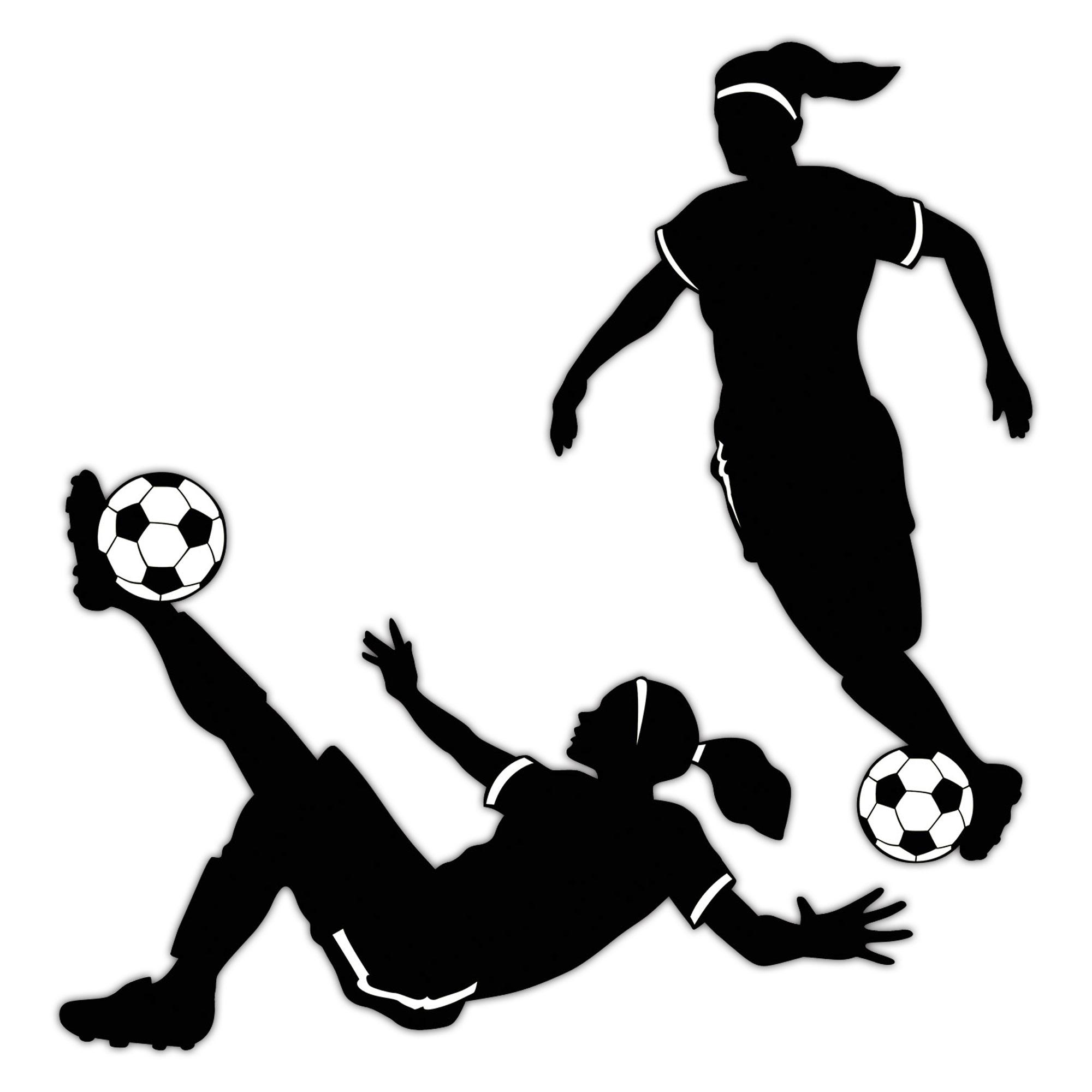 2000x2000 Girl's Soccer Cutouts