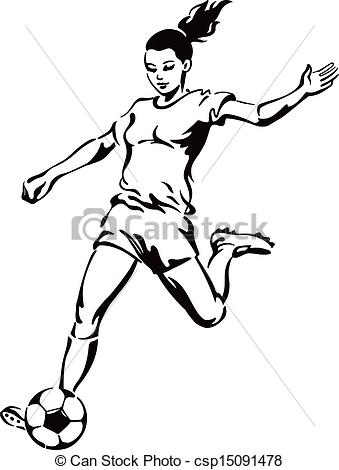 339x470 Girl Soccer Player Clipart Clipart Panda Free Clipart Images Mk