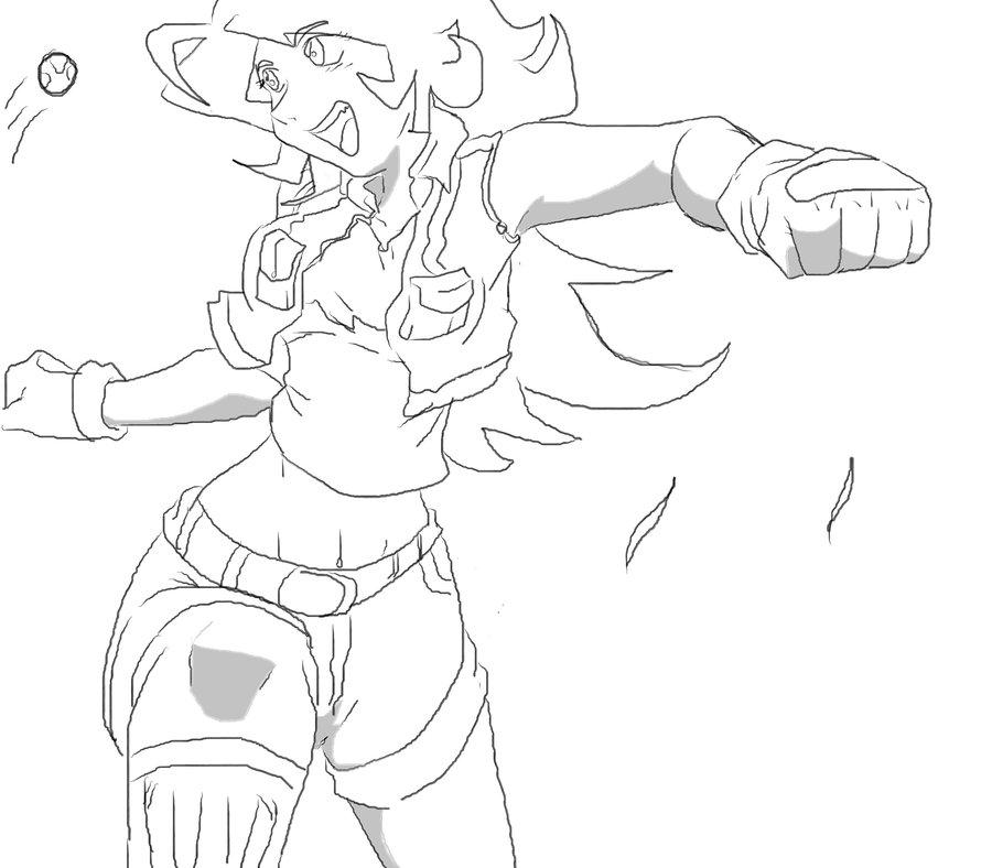 900x788 Soccer Anime Girl By Merang