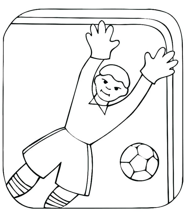 600x687 Free Printable Soccer Coloring Pages Free Soccer Coloring Pages X