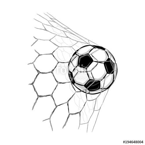500x500 Soccer Ball Goal Stock Image And Royalty Free Vector Files
