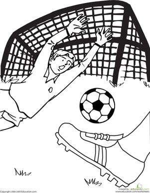 301x386 Soccer Game Worksheet