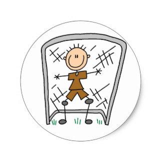324x324 Soccer Goalie Stickers Zazzle