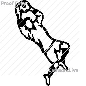 300x300 Female Soccer Goalie Clipart Clipart Panda