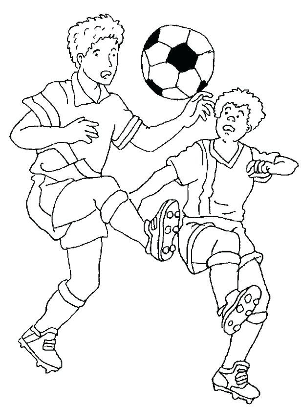 618x834 Coloring Pages Of Soccer Soccer Coloring Pages For Kids Soccer