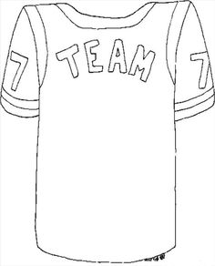 image regarding Football Jersey Template Printable called Football Jersey Drawing at  Totally free for particular person