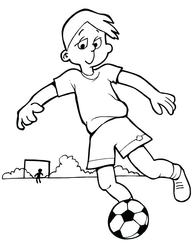 629x815 Football Printable Coloring Pages Soccer Coloring Pages For Boys