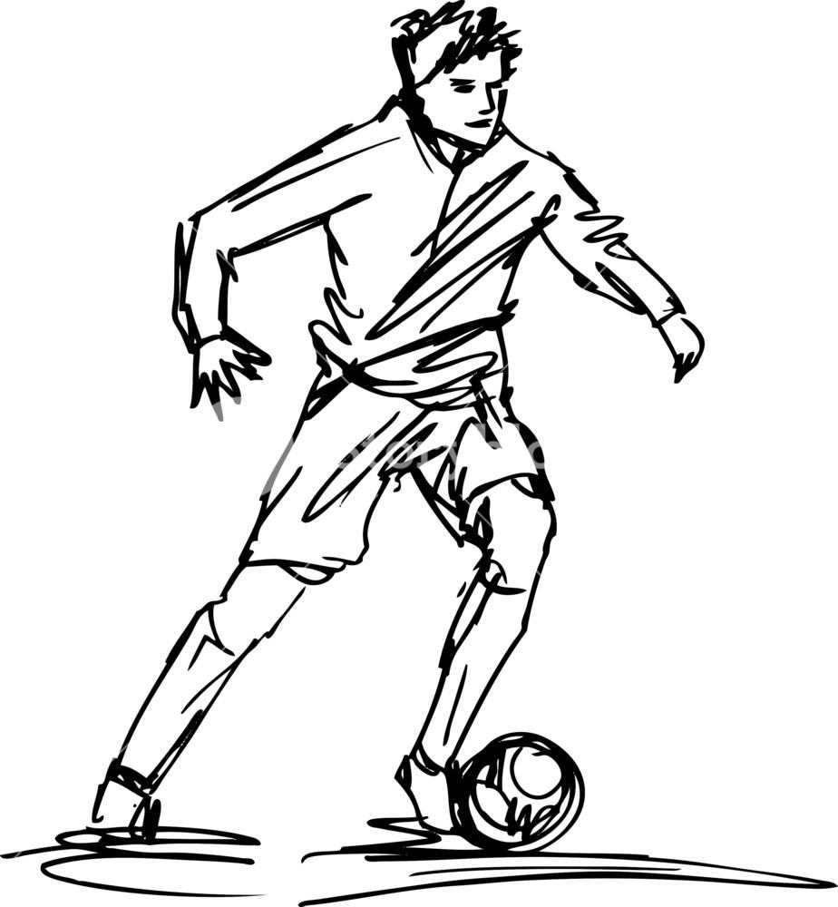 924x1000 Soccer Player Drawings Custom Design Floor Plans